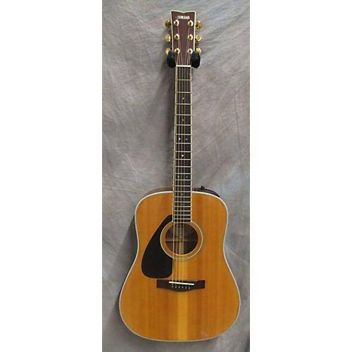 used yamaha dw4sle left handed acoustic electric guitar guitar center. Black Bedroom Furniture Sets. Home Design Ideas