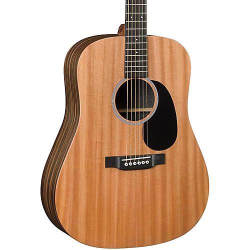 Martin DX2AE Macassar Dreadnought Acoustic-Electric Guitar Natural