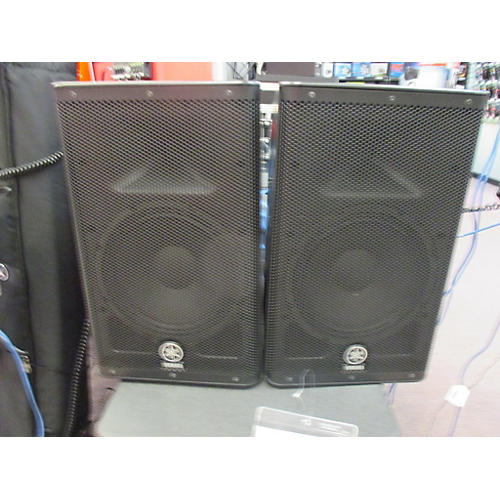 Used yamaha dxr10 pair powered speaker guitar center for Refurbished yamaha speakers