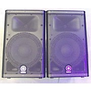 Yamaha DXR10 PAIR WITH BAGS Powered Speaker