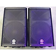 Yamaha DXR12 PAIR WITH COVERS Powered Speaker