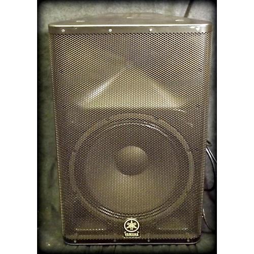Used yamaha dxr15 powered speaker guitar center for Yamaha powered speakers review