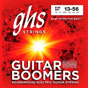GHS DYM Boomers Medium - Wound 3rd Electric Guitar Strings by GHS