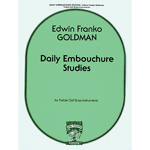 Carl Fischer Daily Embouchure Studies for Treble Clef Brass Instruments by E.F. Goldman-thumbnail