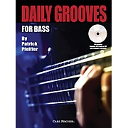 Carl Fischer Daily Grooves for Bass Book/CD