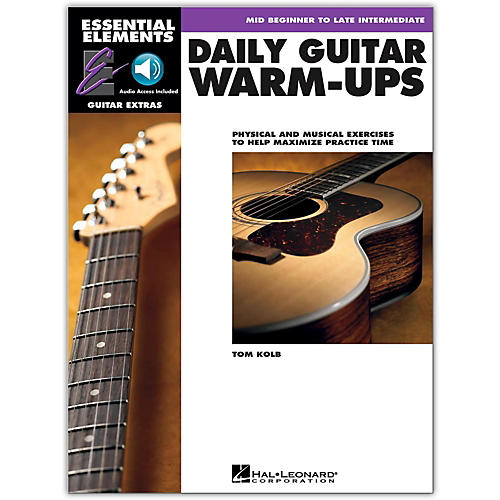 Hal Leonard Daily Guitar Warm-Ups Essential Elements Guitar (Book/Online Audio)