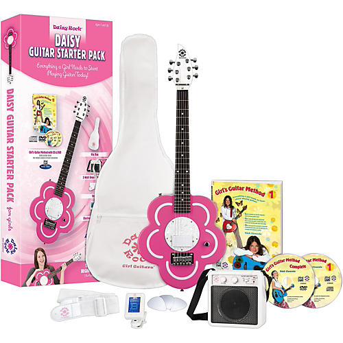 Daisy Rock Daisy Electric Short-Scale Electric Guitar Starter Pack