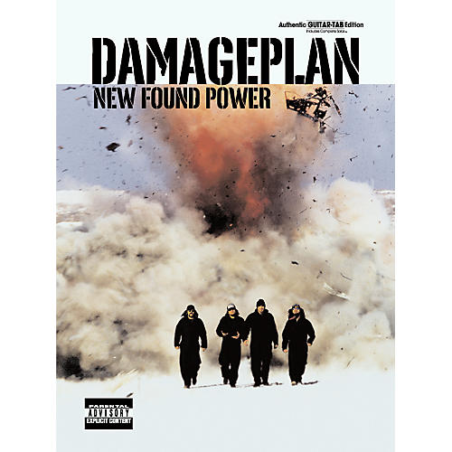 Alfred Damageplan New Found Power Guitar Tab Songbook-thumbnail
