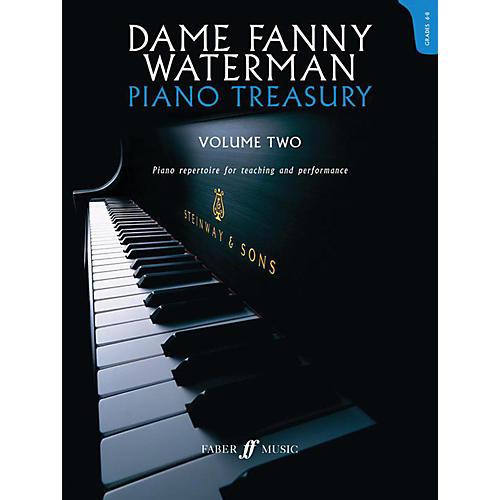 Faber Music LTD Dame Fanny Waterman - Piano Treasury Volume Two Advanced Book-thumbnail