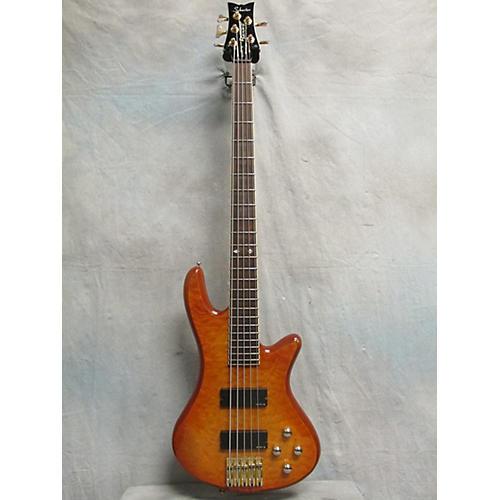 Schecter Guitar Research Damien Elite 5 String Electric Bass Guitar