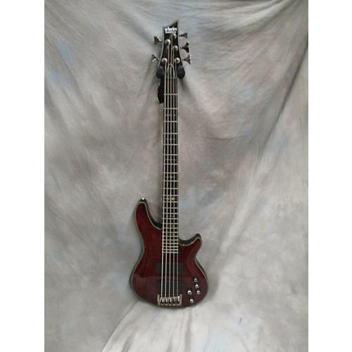 Schecter Guitar Research Damien Elite 5 String Electric Bass Guitar