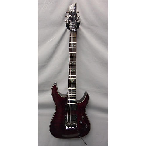 Schecter Guitar Research Damien Elite 6 Floyd Rose Solid Body Electric Guitar-thumbnail