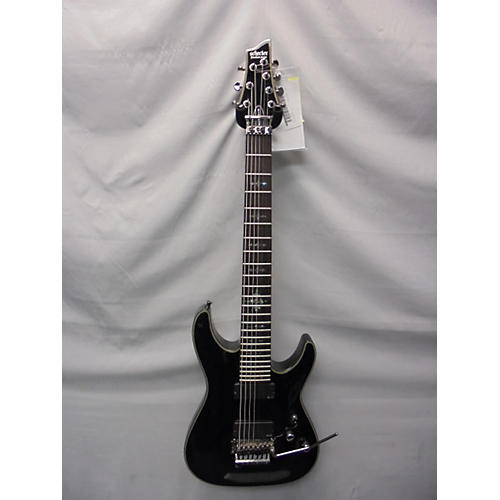 Schecter Guitar Research Damien Elite 7 Floyd Rose Solid Body Electric Guitar-thumbnail