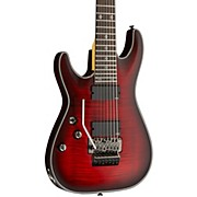 Schecter Guitar Research Damien Elite-7 Left Handed Electric Guitar with Floyd Rose