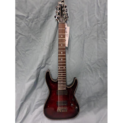 Schecter Guitar Research Damien Elite 7 Solid Body Electric Guitar-thumbnail