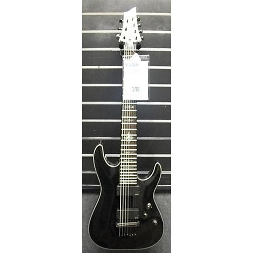 Schecter Guitar Research Damien Elite 7 Solid Body Electric Guitar BLACK SPARKLE