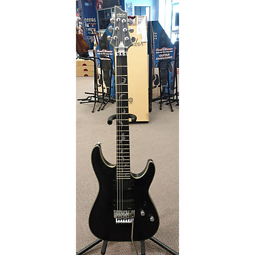 Schecter Guitar Research Damien Platinum 6 Floyd Rose Solid Body Electric Guitar-thumbnail