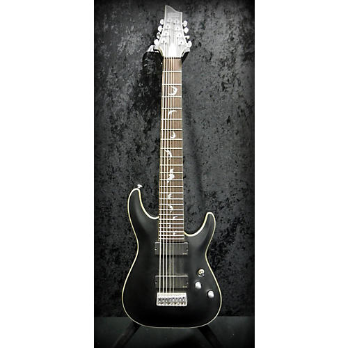 Schecter Guitar Research Damien Platinum 8 Solid Body Electric Guitar-thumbnail