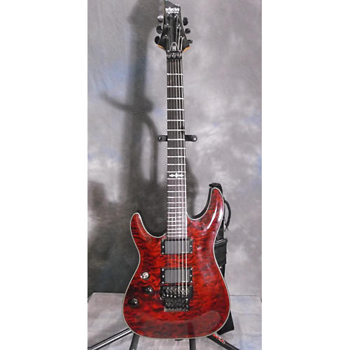 Schecter Guitar Research Damien Special Floyd Rose Left Handed Electric Guitar-thumbnail
