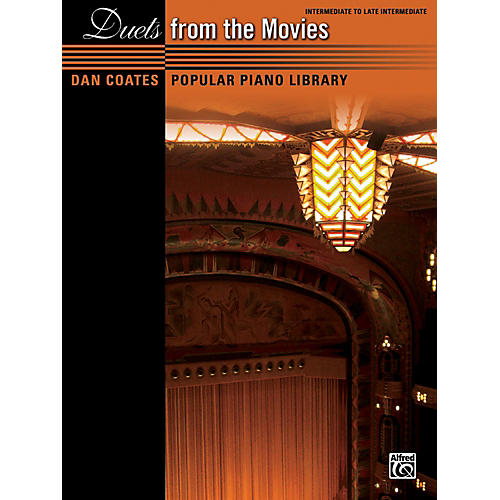 Alfred Dan Coates Popular Piano Library: Duets from the Movies Book