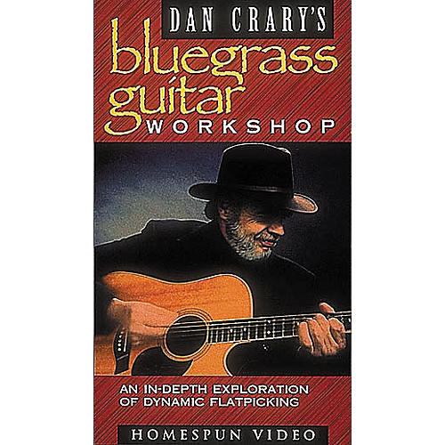 Hal Leonard Dan Crary's Flatpick Guitar Workshop Video