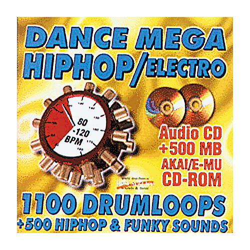 EastWest Dance Mega Hip Hop/Electro Audio/Akai/E-MU Sample CD-ROM