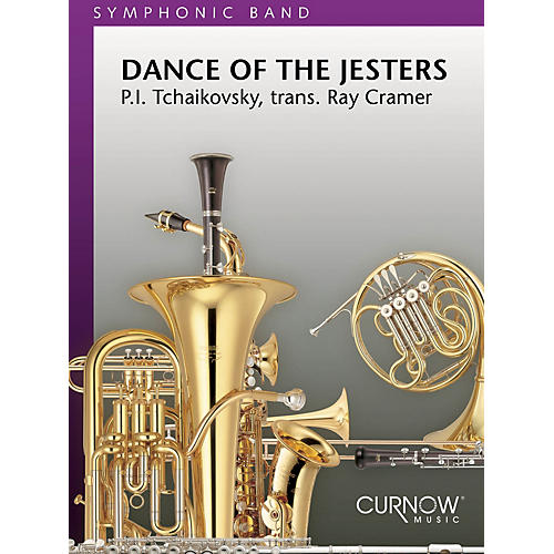 Curnow Music Dance of the Jesters (Grade 5 - Score Only) Concert Band Level 5 Arranged by Ray Cramer
