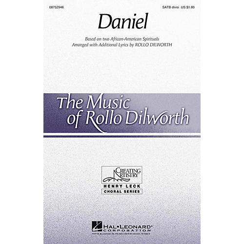 Hal Leonard Daniel SATB Divisi arranged by Rollo Dilworth
