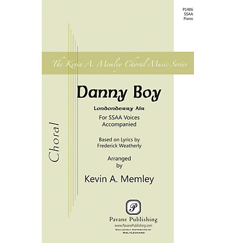 Pavane Danny Boy SSAA arranged by Kevin Memley