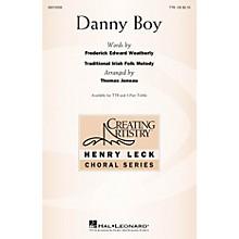 Hal Leonard Danny Boy TTB arranged by Thomas Juneau