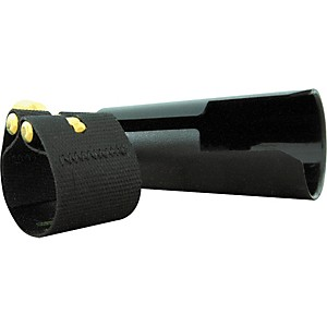 Rovner Dark Alto Saxophone Ligature and Cap by Rovner