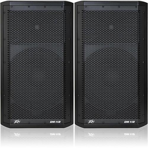 Peavey Dark Matter DM 112 Powered Speaker Pair