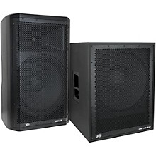 Peavey Dark Matter DM115 Powered Speaker and DM118 Sub