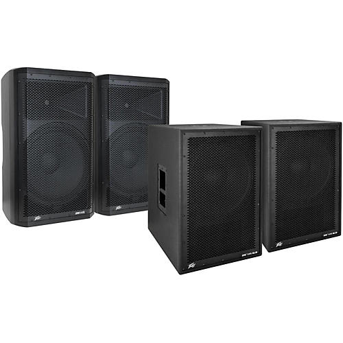 Peavey Dark Matter DM115 Powered Speaker and Sub Pair-thumbnail