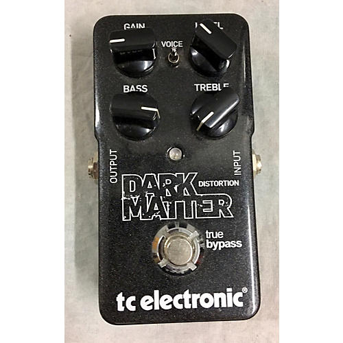 used tc electronic dark matter distortion effect pedal guitar center. Black Bedroom Furniture Sets. Home Design Ideas