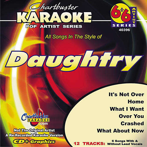 Chartbuster Karaoke Daughtry Karaoke CD+G