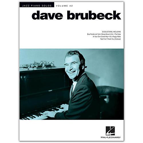 Hal Leonard Dave Brubeck - Jazz Piano Solos Volume 42