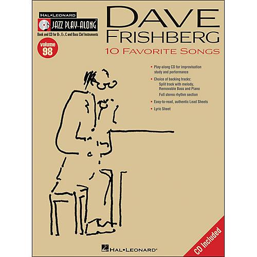 Hal Leonard Dave Frishberg Jazz Play- Along Volume 98 Book/CD