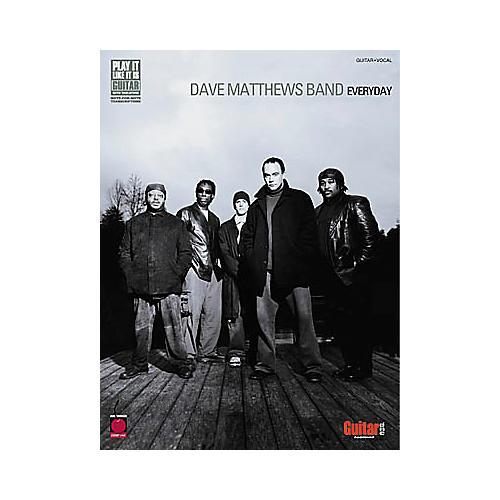Hal Leonard Dave Matthews Band - Everyday Book