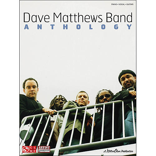 Cherry Lane Dave Matthews Band Anthology arranged for piano, vocal, and guitar (P/V/G)