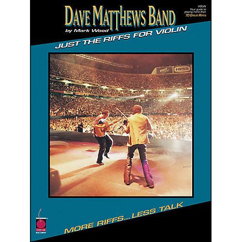 Cherry Lane Dave Matthews Band Just The Riffs Violin Edition-thumbnail