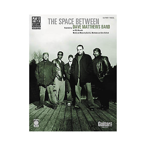 Cherry Lane Dave Matthews Band: The Space Between Book