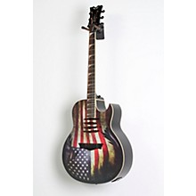 Dave Mustaine Mako Glory Acoustic-Electric Guitar Level 2 USA Flag Graphic 888366053713