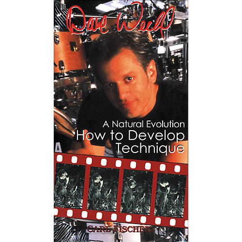 Carl Fischer Dave Weckl - How to Develop Technique (VHS)