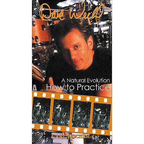 Carl Fischer Dave Weckl - How to Practice (VHS)-thumbnail