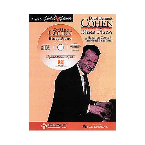 Hal Leonard David Bennett Cohen Teaches Blues Piano Book/CD-thumbnail