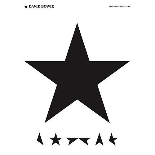 Music Sales David Bowie - Blackstar Piano/Vocal/Guitar Artist Songbook-thumbnail