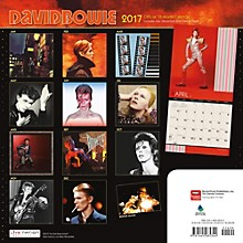 Browntrout Publishing David Bowie 2017 Live Nation Calendar