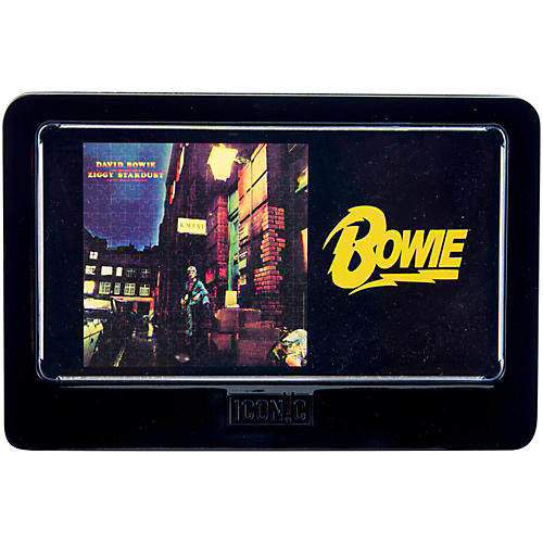 Iconic Concepts David Bowie Ziggy Stardust 3D Lenticular Jigsaw Puzzle in Tin Gift Box-thumbnail