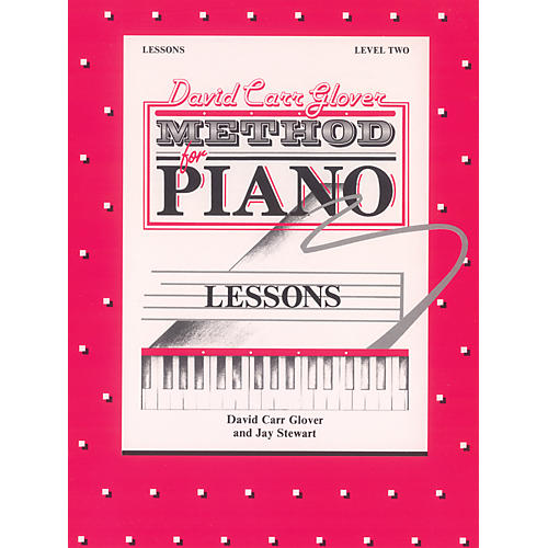 Alfred David Carr Glover Method for Piano Lessons Level 2